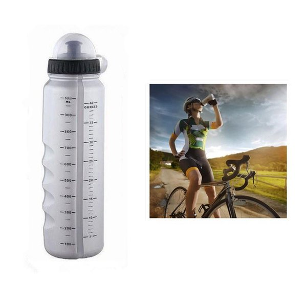 1100ml Bicycle Water Bottle Cycling Outdoor Sports Kettle Big Capacity With Dust Cover Bike Bottles My Shaker Bottle