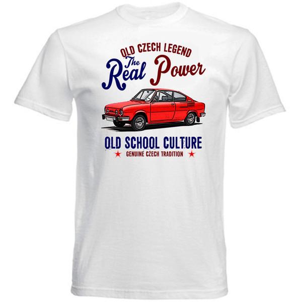 Vintage Czech Car Wholesale Discount 110r - Nouveau T-shirt en coton