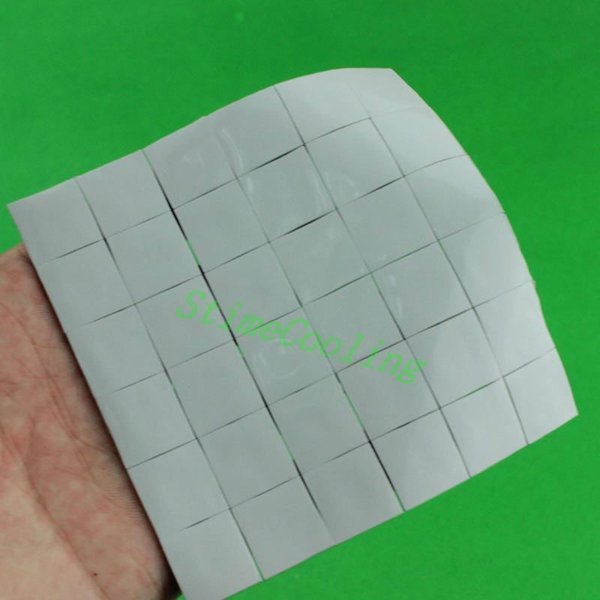 heatsink thermal 75 Pieces Lot 15X15x1MM for Xbox PS GPU SMD DIP VGA IC Chip Silicone Conduction Heatsink Thermal Paste Compounds Pad