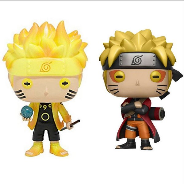 Toptan Funko Pop Animasyon: Naruto - Naruto Altı Yolu / Adaçayı Modu Çocuklara Özel Hediye Kutusu ile Vinil Aksiyon Figürü