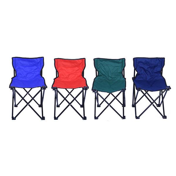 Portable Chaise Pliante Siège Oxford Tissu Pliant Tabouret pour Camping Randonnée Pêche Plage Jardin Pique-Nique Outils de Plein Air