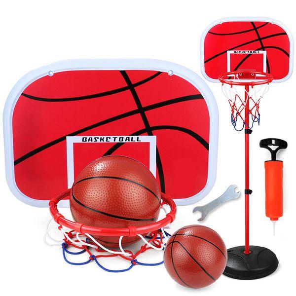 HOT Children Basketball Stand Kids Outdoor Adjustable Basketball Sports Set Kit Free Shipping