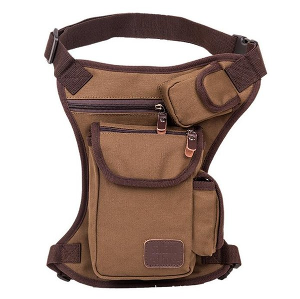 2016 multifunction canvas leg bag colorful tactical gear outdoor cycling pockets free shipping.