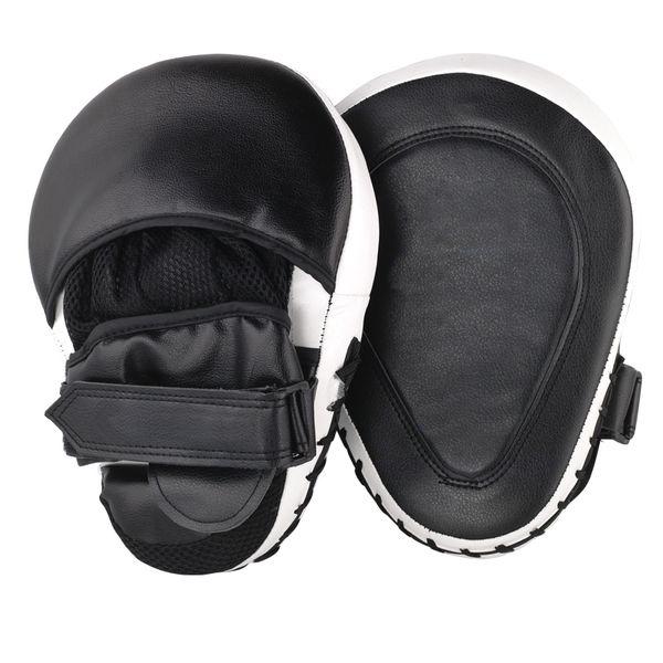 2Pcs /Lot Muay Thai Mma Boxing Gloves Sandbag Punch Pads Hand Target Focus Fitness Training Circular Mitts For Kick Fighting