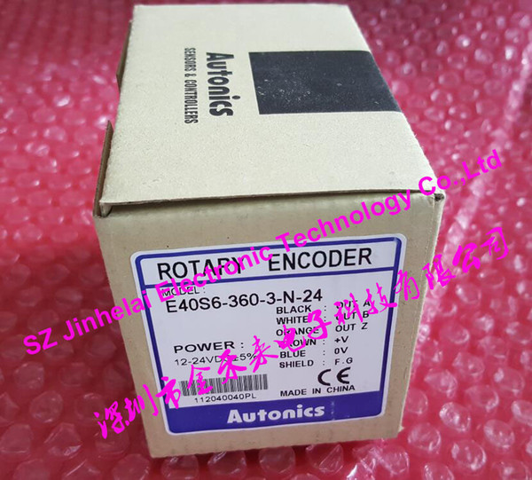 New and original E40S6-360-3-N-24 AUTONICS Incremental rotary encoder