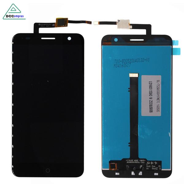 Display lcd para zte blade v7 tela de toque do painel de tela de substituição assembléia para zte v7 telefone frete grátis e ferramentas