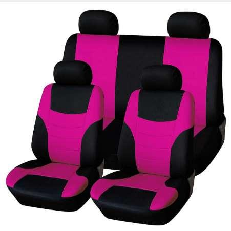 Awesome Universal Classic Car Seat Cover Seat Protector Car Styling Seat Covers Set Fluorescent Pink Car Seats Cover Sets Car Seats Covers For Infants From Pdpeps Interior Chair Design Pdpepsorg