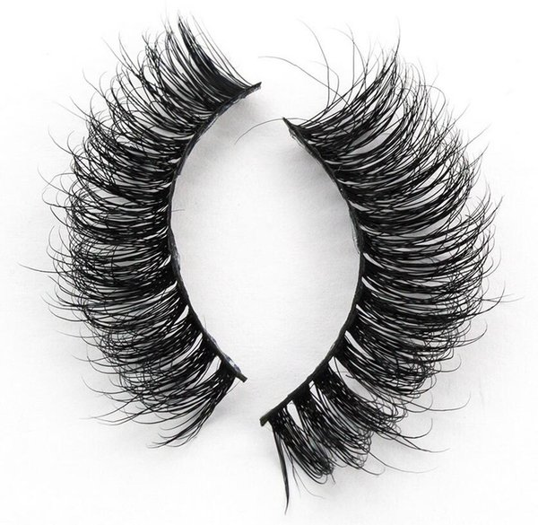 A06 Free shipping 3D hot sale wholesale beautiful long thick lashes crisscross strip 3D mink hair lashes