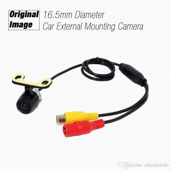 wholesale Universal 16.5mm External Mounting Car Original Image Front View RCA Camera Car Camera #2734