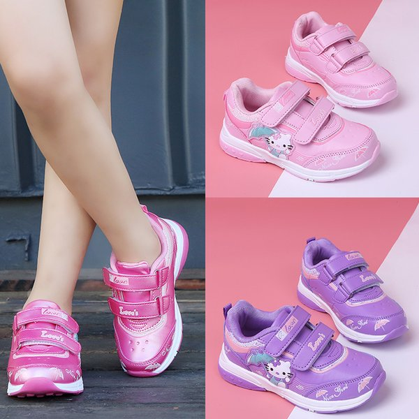 free shipping new shoes girl fashion Light LED sneakers Skateboarding Shoes pink hot sell size 26-31