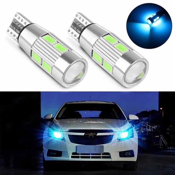Стайлинга автомобилей автомобилей Авто LED T10 Canbus 194 W5W 10 SMD 5630 светодиодные лампы Нет ошибка светодиодные парковка автомобилей боковой свет