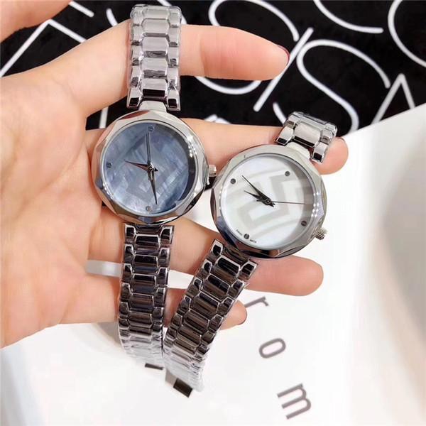 2019 reloj de mujer de lujo de acero inoxidable esfera especial Reloj de pulsera de cuarzo ocasional oro rosa señora relojes de cuarzo precio al por mayor regalo accesorios