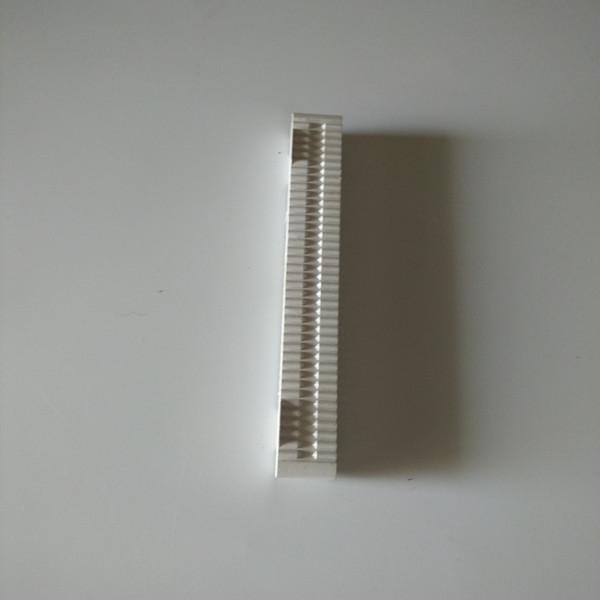 plastic 8 inch length Black color Longboard Fin box Single fins box US Fin Box fin plugs (10pcs)