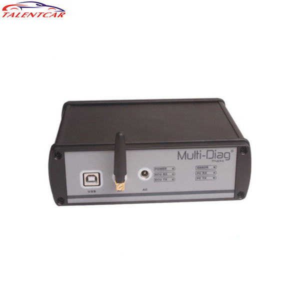 2015 Best Price For WAS Multi-Diag Truck Diagnostic Tool With Bluetooth And Multi-Language For Heavy Duty High Quality