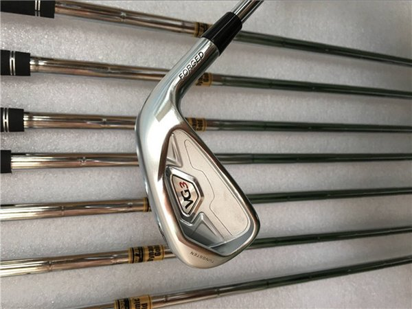Brand New VG3 Iron Set VG3 Golf Forged Irons Golf Clubs 4-9PA R/S Flex Steel Shaft With Head Cover