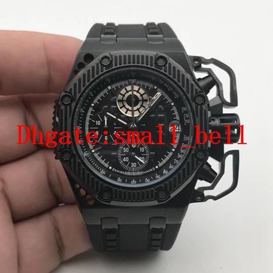 Новый завод новое качество продукции 26165IO мужчины из нержавеющей стали 316L часы 42 мм импортированных ВК кварцевый механизм мужские многофункциональные часы