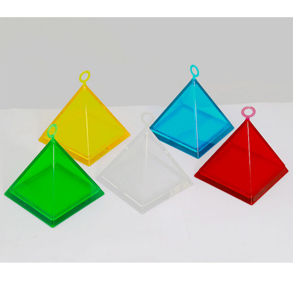Pyramid Pendant gravity block Helium balloon weights Wedding decorations Party favors gift box birthday party supplies wholesale