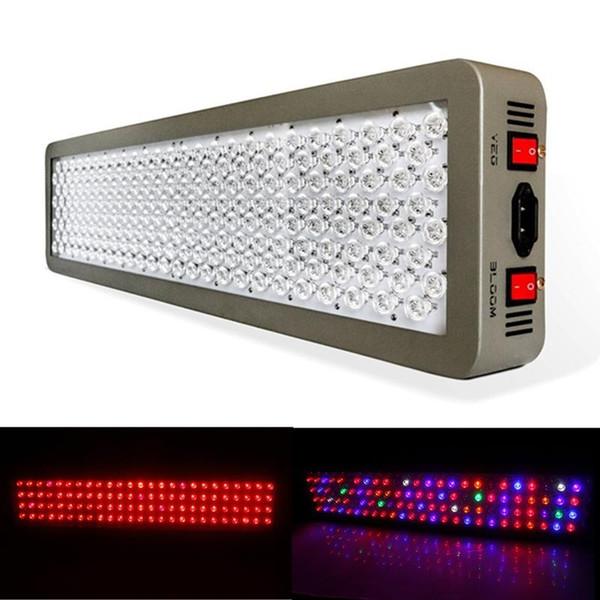 Série Platinum P600 600 W * 2 1200 W LED Crescer luz de preenchimento AC 85-285 V Dupla Hidroponia Chip VEG DUPLO FLOR ESPECTRICO CHEIO Planta Crescer Luz