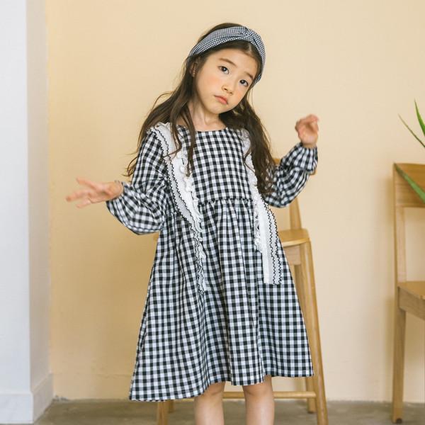 Großhandel Neue Korea Mädchen Kleid Big Kids Mädchen Kleider ...
