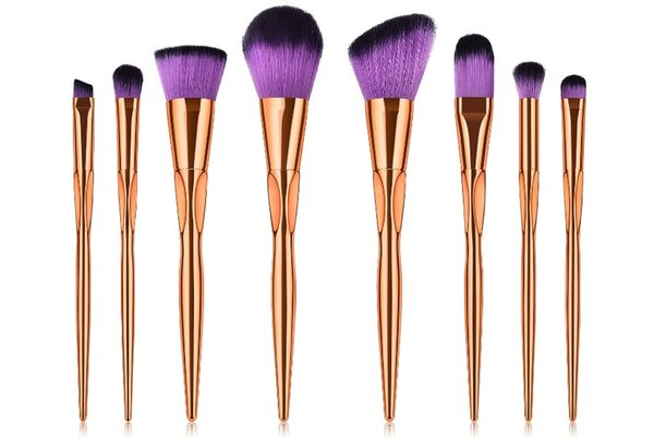 2018 Hot Sale Heart Type Makeup Brushes