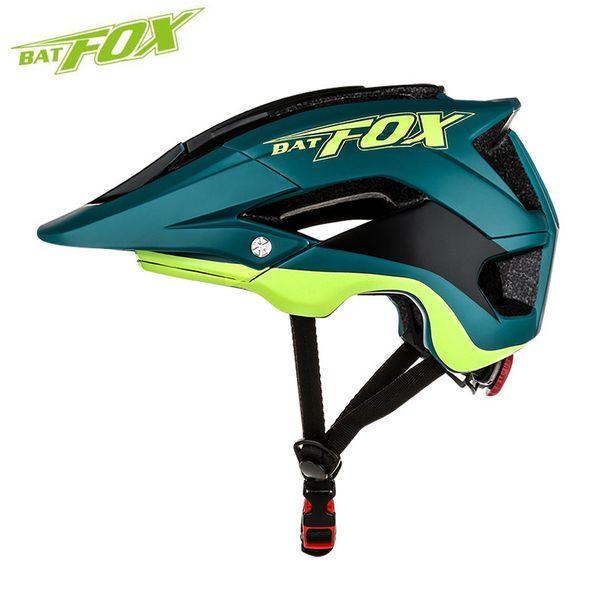 BATFOX сверхлегкий интегрально-литой велосипедный шлем для мужчин женщин Велоспорт шлем КАСКО Ciclismo дорога MTB безопасности велосипед шлем Y1892908