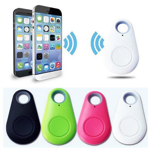 Оптовая Мини GPS Трекер Bluetooth Key Finder Сигнализация 8 г Двусторонняя Finder Пункт для Детей, Домашних Животных, Пожилых, Кошельки, Автомобили, Телефон Розничная Упаковка