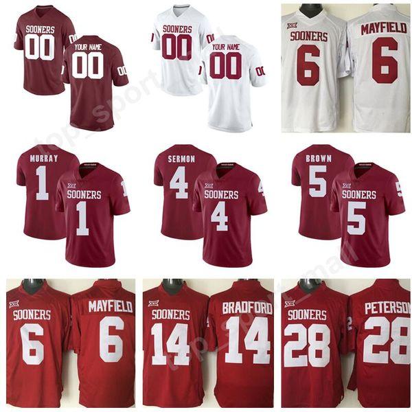 oklahoma football jerseys custom