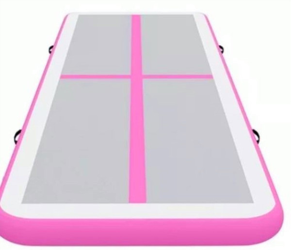Free Shipping 8x2x0.2m Commercial Colorful Inflatable Swimming Pool Floating Mat Dock Inflatable Air Tumble Track For Sale Gymnastics Mats