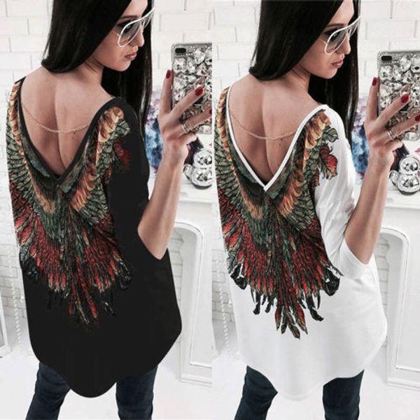 Женская Мода Лето Вышитые Рубашки Повседневная Блузка Свободные Хлопок Топы Рубашка С Длинным Рукавом V-Образным Вырезом Цветочные Полосатый Новый Горячий Blusas