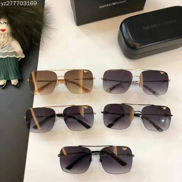 fbcbf89347986 2018 nova moda high-end óculos de sol dos homens e mulheres recomendar  super-