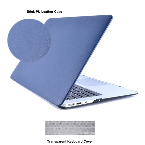 PU Leather Laptop Cases for Apple MacBook Air 13.3 11 Retina 12 Pro 13 15 New touch bar A1706 A1708 A1707