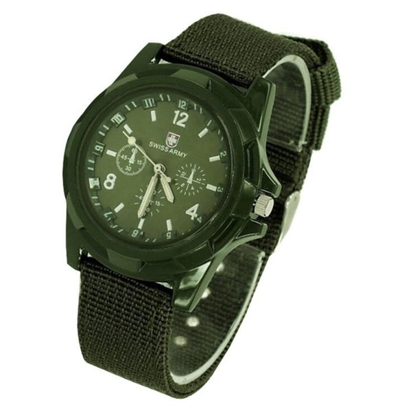 Explosive models of nylon woven cloth with men's watches military outdoor luminous quartz watch exquisite simple fashion casual