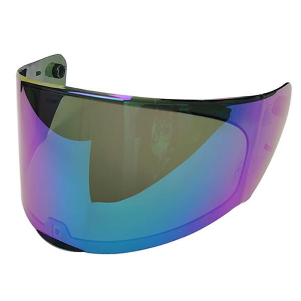 replace lens for LS2 FF328 motorcycle helmet transparent black rainbow original extra lens suitable for LS2 FF320 FF353 FF328