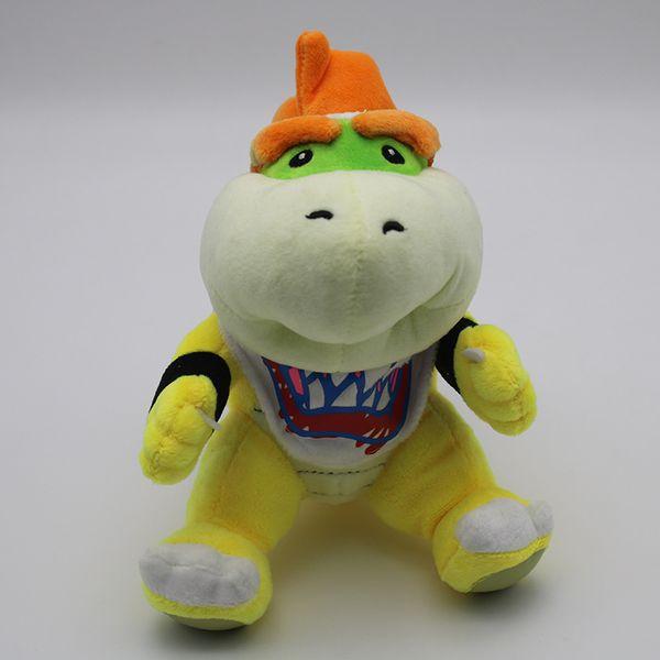 Cute Super Mario Bowser Koopa JR Doll 18cm Embroidery Stuffed Plush Toy For Baby Children Birthday Gift 14 5tz YY
