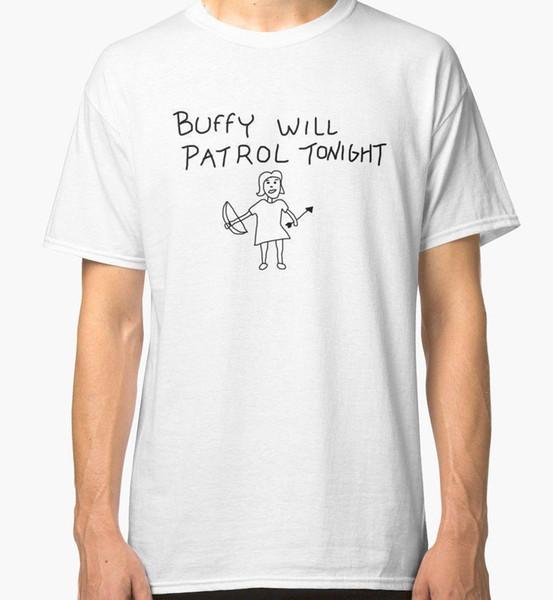 Buffy Will Patrol Heute Abend T-Shirt