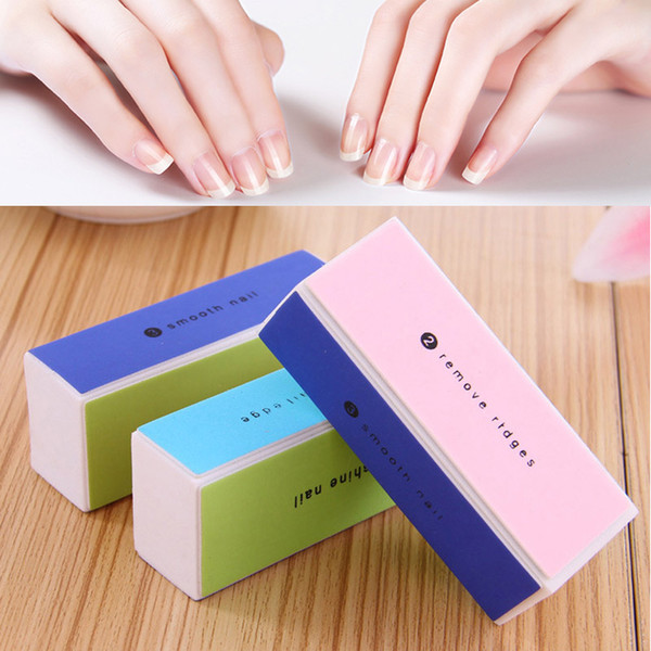 5Pcs Professional Manicure Care Nail Art Sanding Block Nail Tips Buffer Buffing Files