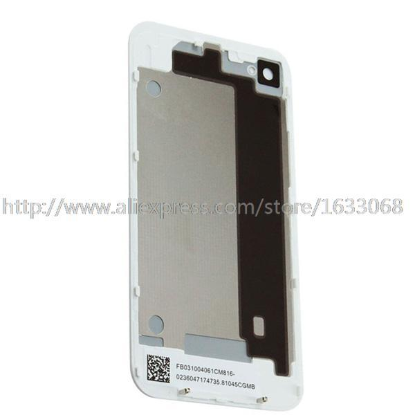 Back Housing Cover For Iphone 4S Battery Door White Black