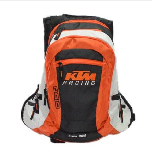 Wholesale for KTM Motorcycle Riding Backpack Multifunctional Mountain biking Outdoor sports backpack Leisure travel bag 2 ColorT