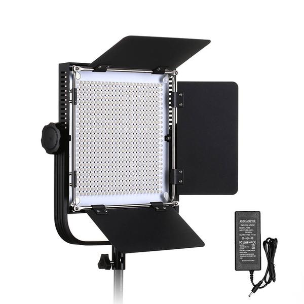 660A Profissional Luz De Vídeo LEVOU com Suporte de Metal Frame U 576 Contas de LED para Estúdio de Fotografia Ao Ar Livre de Fotografia de Vídeo YouTube