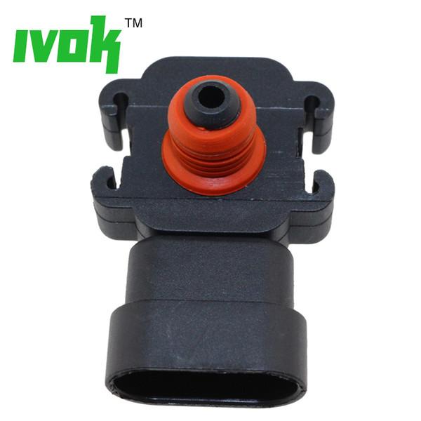 100% Test 1 Bar Manifold Absolute Pressure MAP Sensor Hummer H2 H3 Isuzu Ascender Hombre Oldsmobile 88 89 8-12614973-0 09359409 16187556