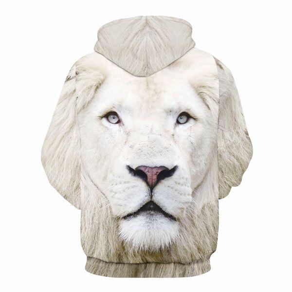 Unisex 3D Lion King Pattern Hoodie Unisex Polyester Men and Women Sport Sweatshirt Free Shipping Size S-3XL