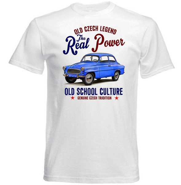 VINTAGE CZECH CAR SKODA OCTAVIA - NEW COTTON T-SHIRT Cheap Sale 100 % Cotton T Shirts For Boys Tops Cool T Shirt