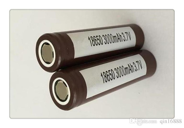 Wholesale High Quality HG2 18650 Battery 3000mAh 35A MAX Rechargable Lithium Batteries For LG Cells VS HE2 HE4 Batteries From china