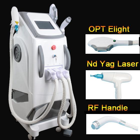 2019 OPT SHR hair removal machine ipl elight skin rejuvenation machine E-Light IPL laser Beauty Equipment
