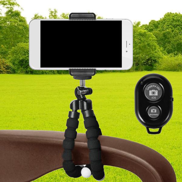Gosear Stativ Einbeinstativ Halterung w / Wireless Bluetooth Kamera Fernauslöser für iPhone X 8 7 6 6 S Plus 5 S Samsung Galaxy S8 S7 S6