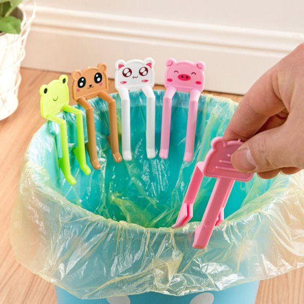 2019 Junk Folder Clamp Kitchen Cleaning Supplies Lovely Cartoon Animal  Plastic Waste Bin Clips Cartoon Trash Clip From Kings0905, $0.86 |  DHgate.Com