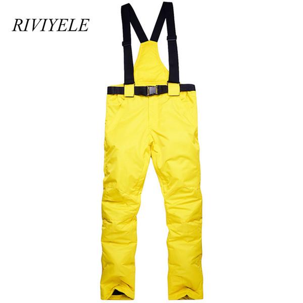 New Brand Winter Snow Pants Men Waterproof Windproof Ski Pants Thicken Warm Snowboarding Trousers For Men Women SK01