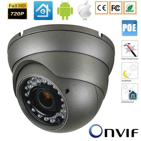 720P/960P/1080P 1.0/2,0MP HD Network 48V POE IR- Camera CMOS Outdoor ONVIF IP camera h 264 CCTV Security Systems xmeye