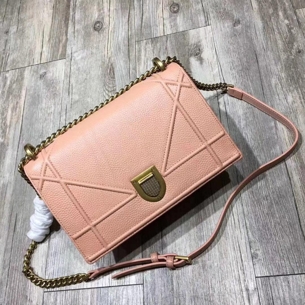 Women Bag Genuine leather top quality luxury brand designer famous shoulder bag new fashion promotional discount wholesale