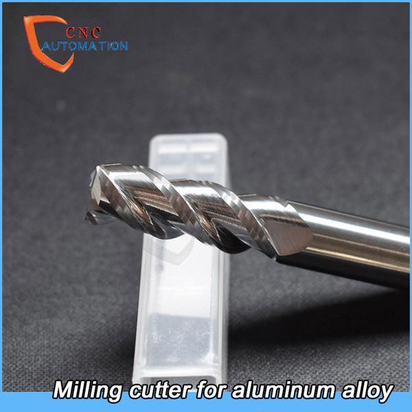 Traitement en aluminium d/'acier de tungstène de carbure d/'alliage de fraise